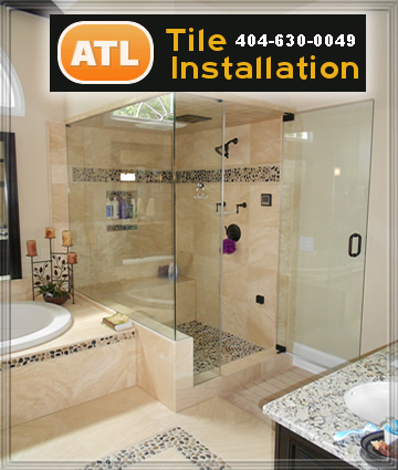 Bathroom remodeling contractor alpharetta ga tile for Bathroom floor repair contractor