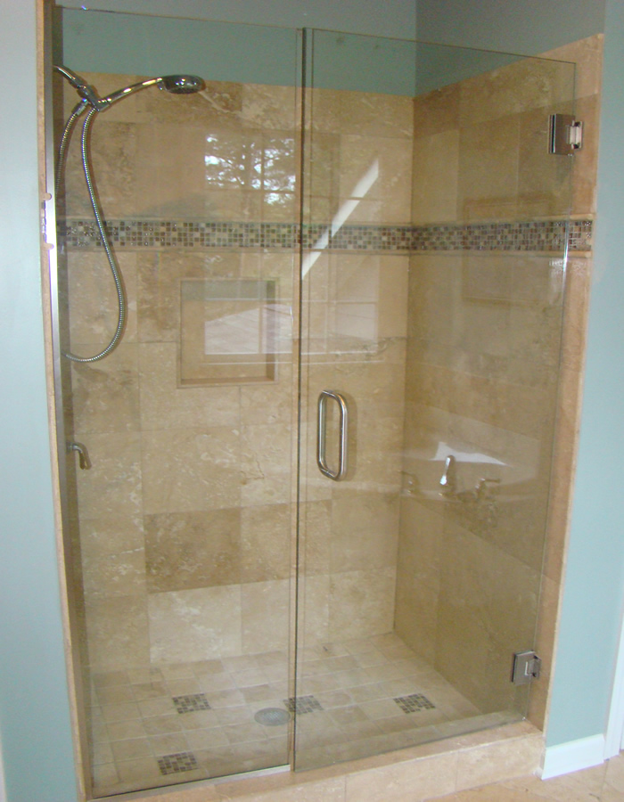 We can install travertine marble and granite tiles
