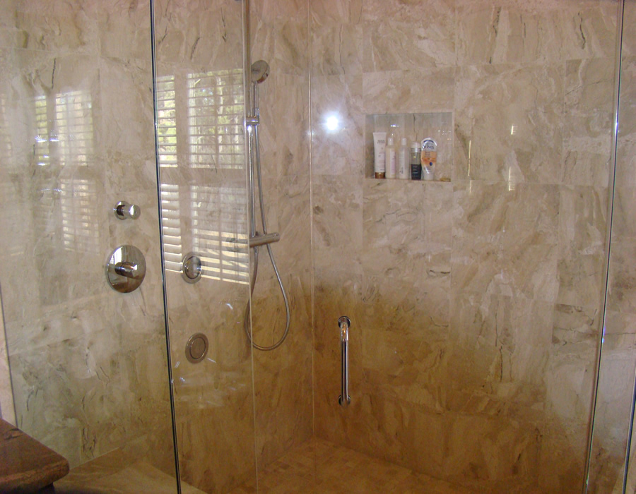 We Can Install Travertine, Marble And Granite Tiles