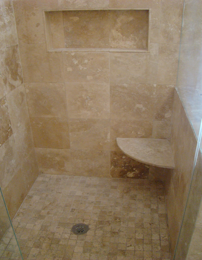 Pin by andrea pomerleau on bathroom pinterest Install tile shower