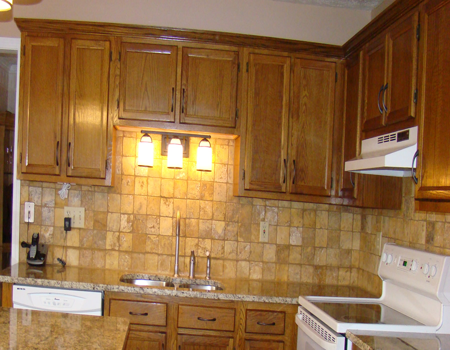 Duluth Ga Custom Kitchen Tile Backsplah Installation