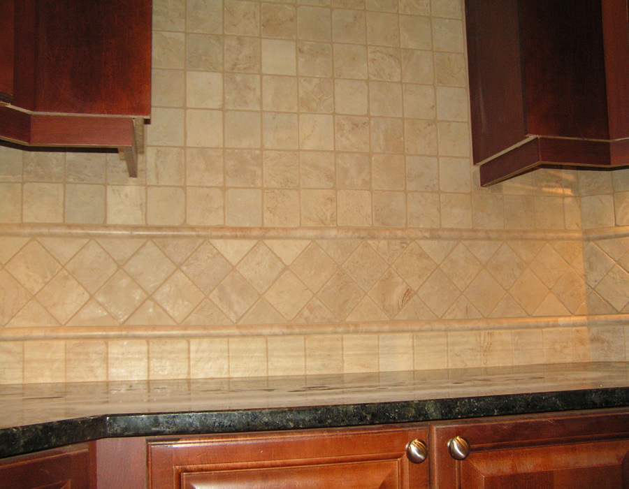 Duluth ga custom kitchen tile backsplah installation - Custom kitchen backsplash tiles ...