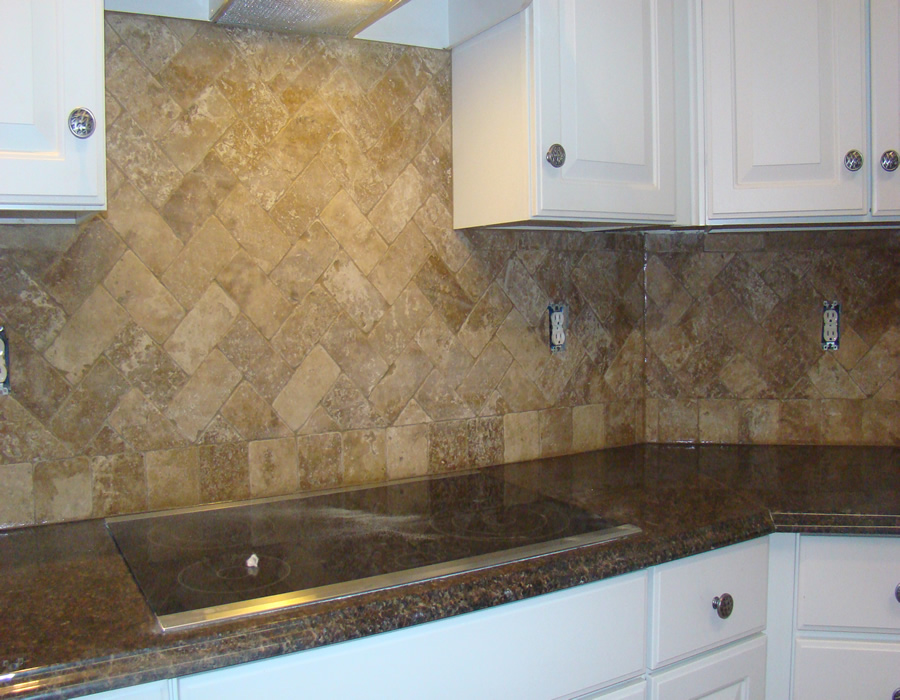 1000 images about travertine backsplash on pinterest - Backsplash designs travertine ...