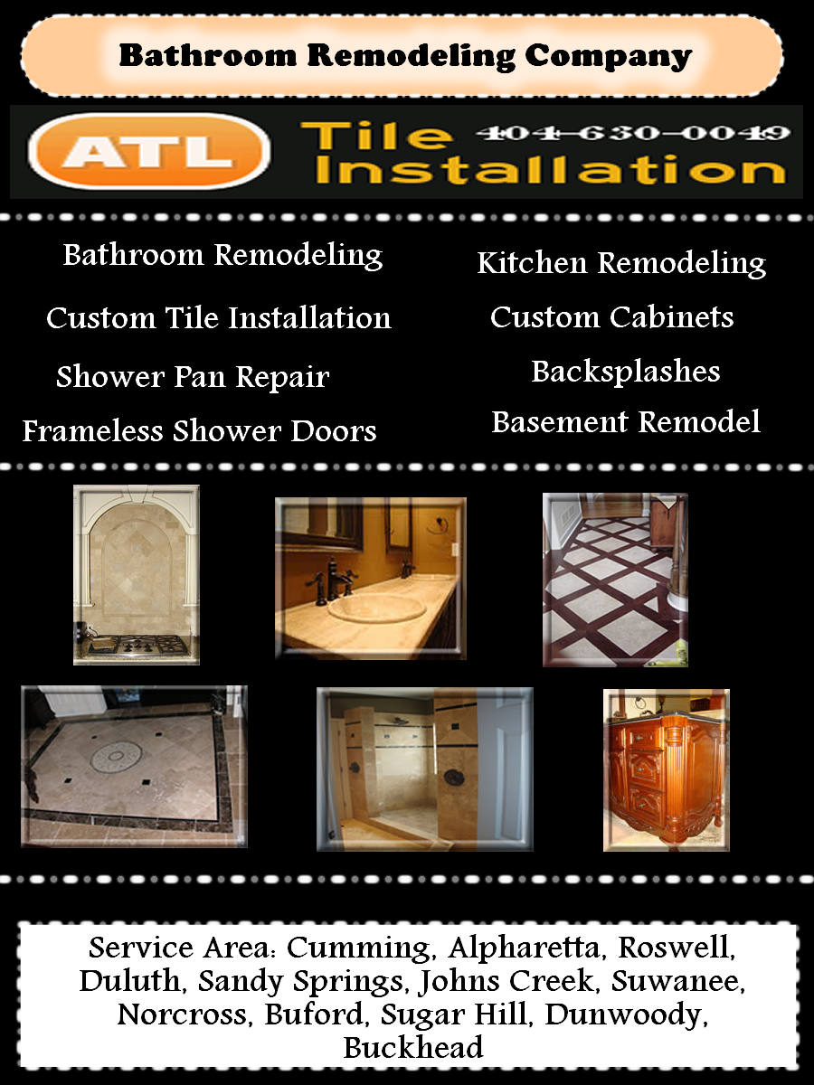 Bathroom Remodeling Johns Creek Ga bathroom remodeling suwanee ga, tile contractor, shower pan repair