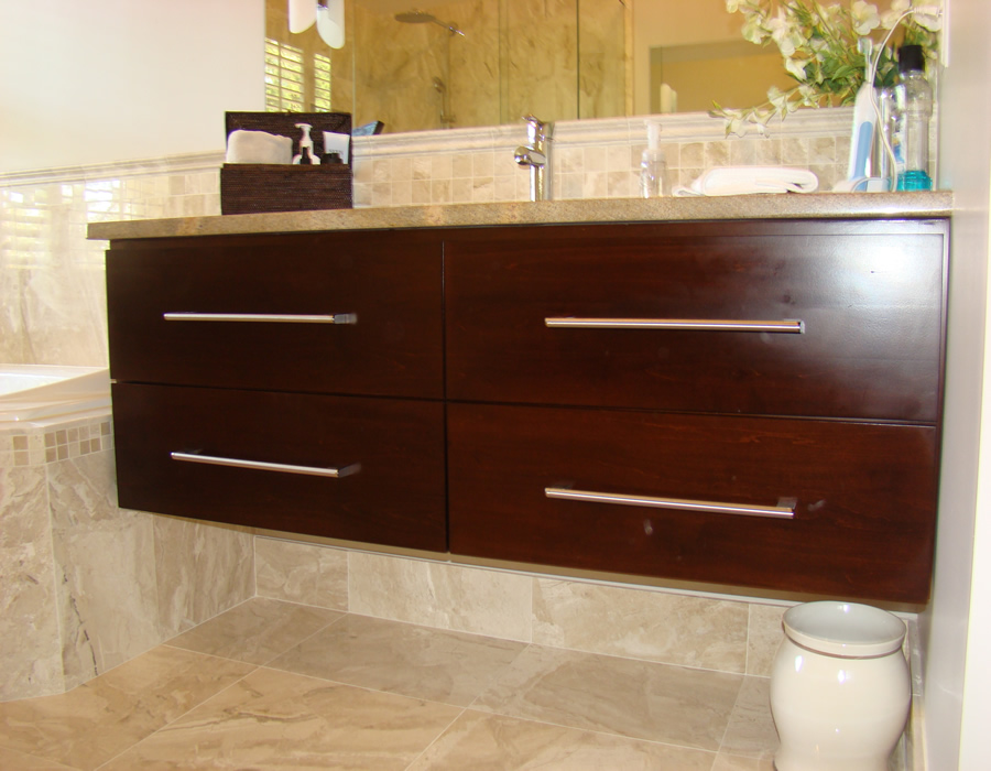 Alpharetta Ga Custom Bathroom And Kitchen Cabinets And Vanities - Cabinets to go bathroom vanity